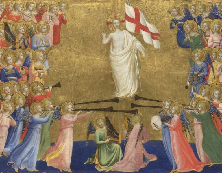 Christ Glorified in the Court of Heaven by Fra Angelico, c. 1395-1455
