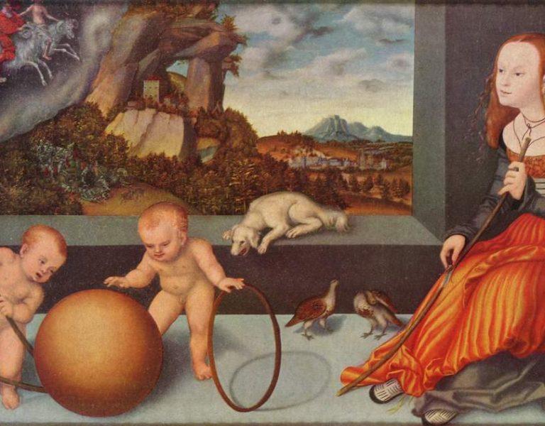 Melancholy by Lucas Cranach, 1532