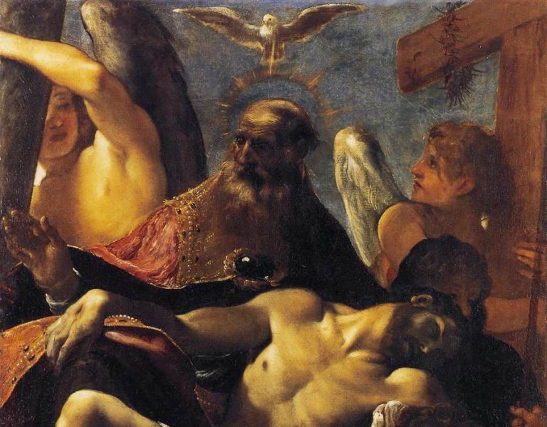 The Holy Trinity by Ludovico Carracci, c. 1590