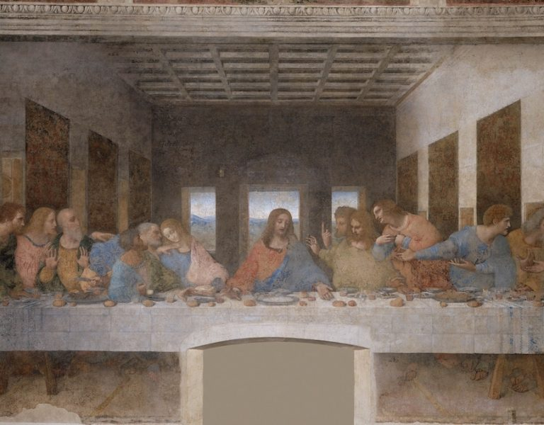 The Last Supper by Leonardo da Vinci, 1498